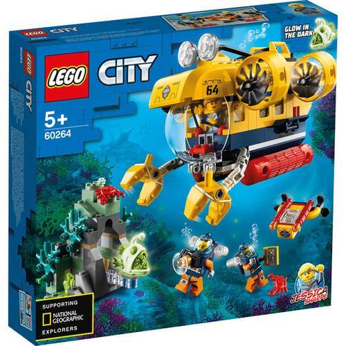 LEGO® City 60264 Meeresforschungs-U-Boot, bunt