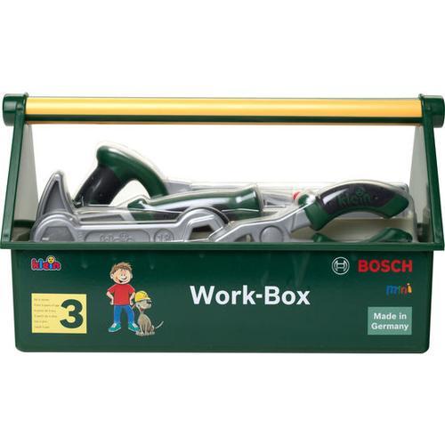 Spiel-Werkzeugkoffer, grün