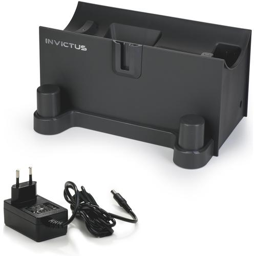 Genius Ladestation INVICTUS X7 schwarz Staubsauger SOFORT LIEFERBARE Haushaltsgeräte