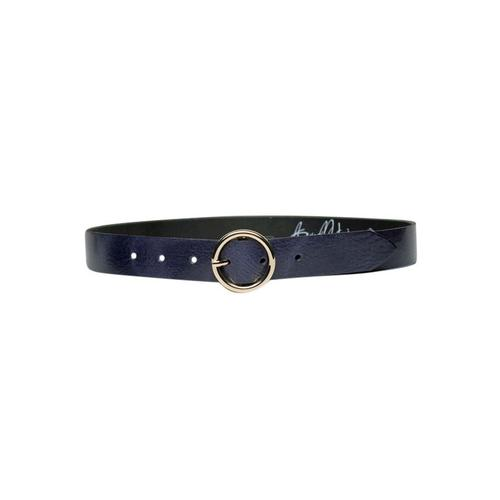 AnnaMatoni Ledergürtel, Leicht genarbte Oberflächenstruktur blau Damen Ledergürtel Gürtel Accessoires