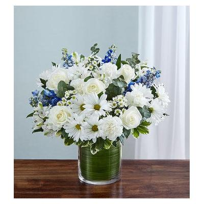 Cherished Memories Blue & White Small by 1-800 Flowers