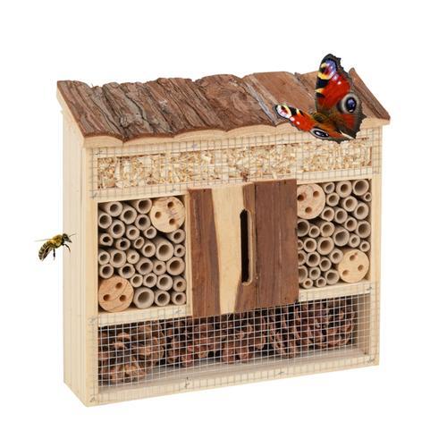 Insektenschutz-Haus, Insektenhotel, 29 x 8 x 28cm