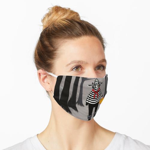 Die Piratenkatze Maske