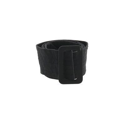 Belt: Black Solid Accessories - ...