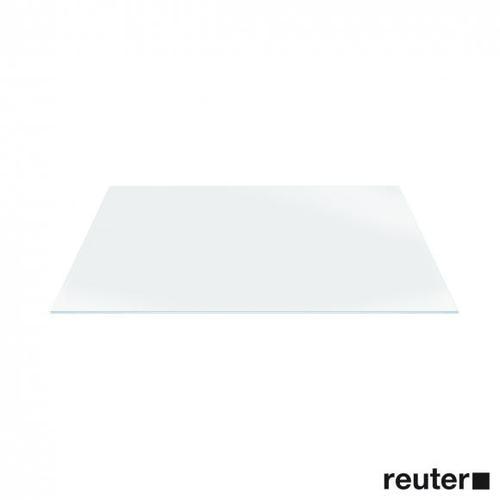 Duravit Glaseinleger für DuraSquare Metallkonsolen für Waschtische B: 570 T: 380 mm weiß 0099648300