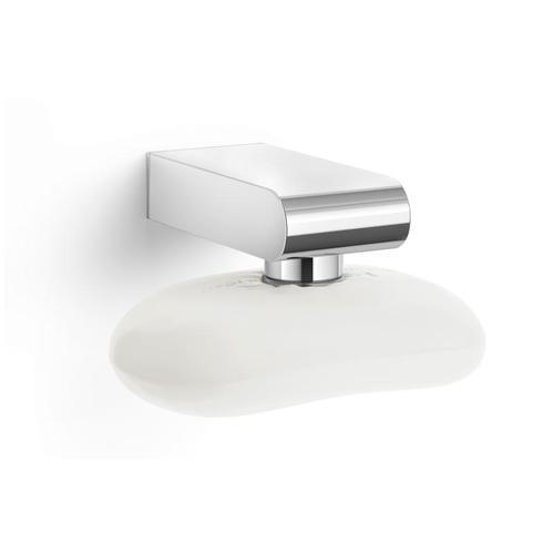 Zack ATORE Magnet-Seifenhalter B: 40 H: 35 T: 85 mm edelstahl poliert 40466