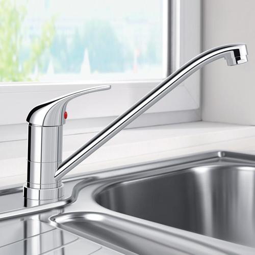 Blanco Daras-F Einhebelmischer, Ausladung: 227 mm, für Vorfenstermontage 521751