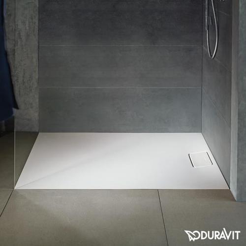 Duravit Stonetto Rechteck-Duschwanne L: 120 B: 100 cm weiß matt 720168380000000