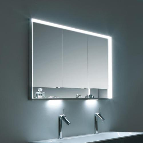 Keuco Royal Lumos Unterputz-Spiegelschrank mit LED-Beleuchtung B: 120 H: 73,5 T: 16,5 cm 14315171301, EEK: A+