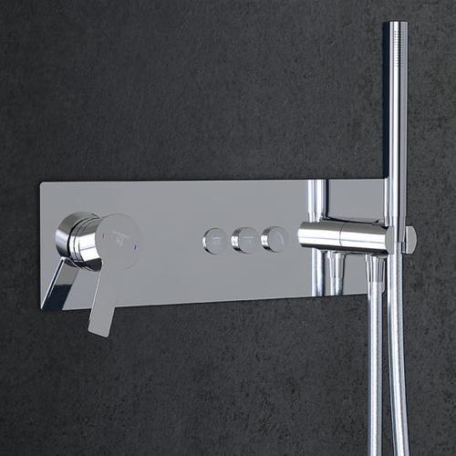 Steinberg Sensual Rain Unterputz-Einhebelmischbatterie für 3 Verbraucher chrom 390 2232