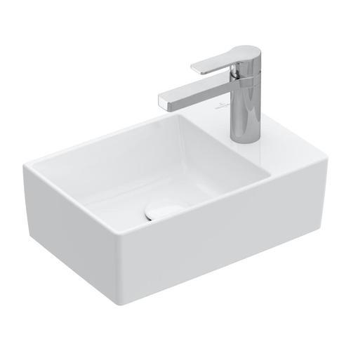 Villeroy & Boch Memento 2.0 Handwaschbecken B: 40 T: 26 cm weiß, ungeschliffen 43234001