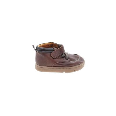 Carter's Boots: Brown Solid Shoe...