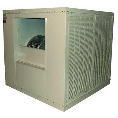 CHAMPION 7K586 Ducted Evaporative Cooler with Motor 21,000 cfm, 10,000 sq. ft.,
