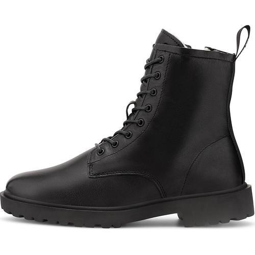 Blackstone, Schnür-Stiefelette Ul64 in schwarz, Boots für Damen Gr. 39