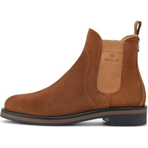 GANT, Chelsea-Boots Fayy in hellbraun, Boots für Damen Gr. 40