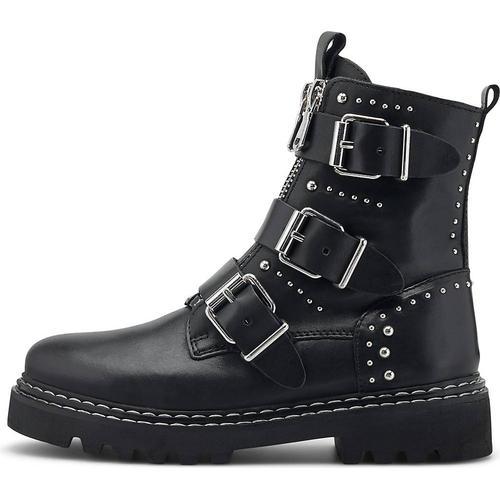Another A, Nieten-Boots in schwarz, Boots für Damen Gr. 40