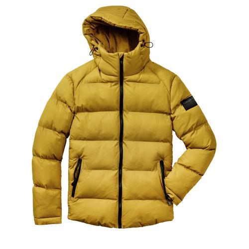 Mey & Edlich Herren Polar-Jacke wasserabweisend leicht gelb 3XL, L, M, S, XL, XXL