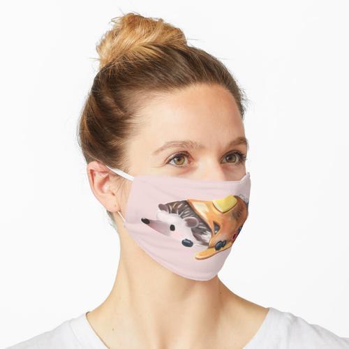 Igelpfannkuchen Maske
