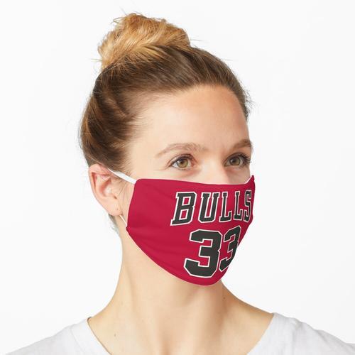 Scottie Pippen Chicago Bulls Trikot Maske