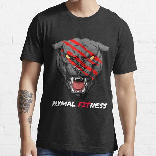 Prymal Panther - With White Font Essential T-Shirt