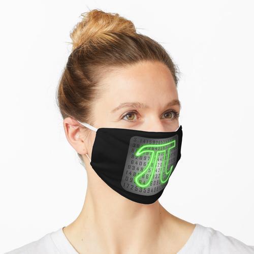 Pi-Tag Leuchtreklame Maske