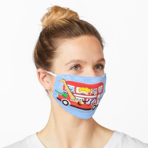 Londoner Bus Maske