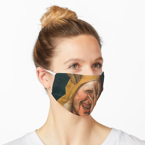Der lachende Narr Maske