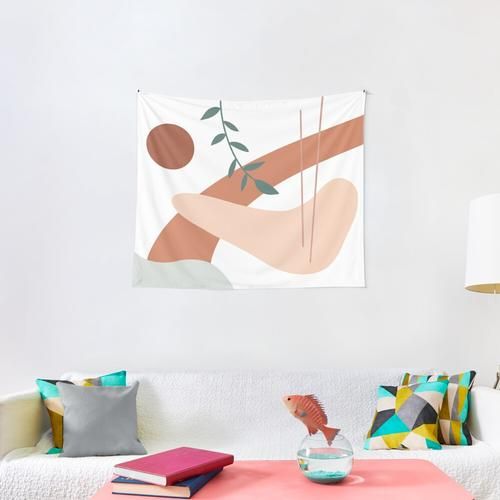 Abstract Shapes Wall Tapestry