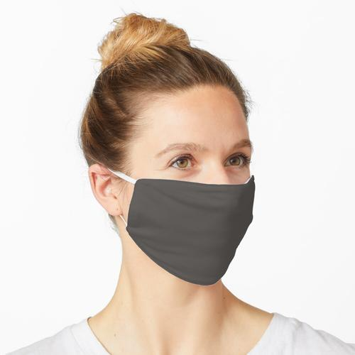 Preiswerteste feste schwarze Kuh-Farbe Maske