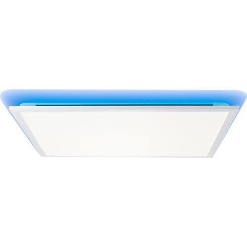 LED Panel Deckenleuchte, dimmbar, 60x60cm, 36 Watt, mit RGB Hintergrundbeleuchtung, 2700-6500