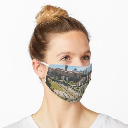 Forum Romanum über Maske Maske