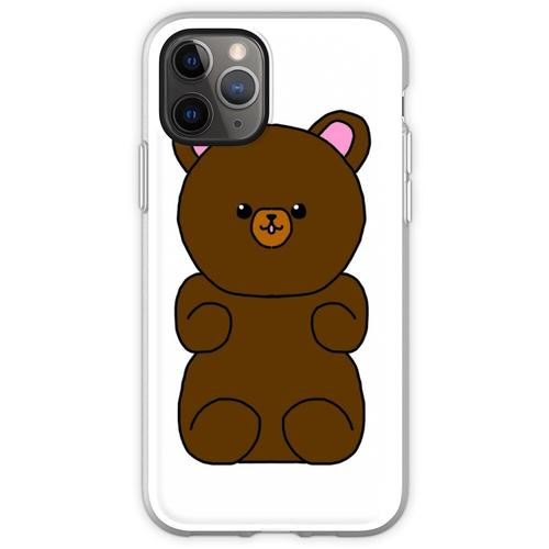 Teddybär flauschiges Stofftier Flexible Hülle für iPhone 11 Pro