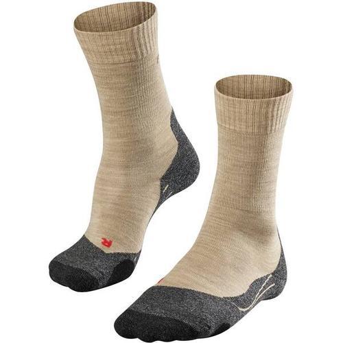FALKE TK2 Damen Socken, Größe 41-42 in Nature Mel