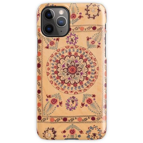 Samarkand Suzani Antiker Usbekistan Teppich iPhone 11 Pro Handyhülle