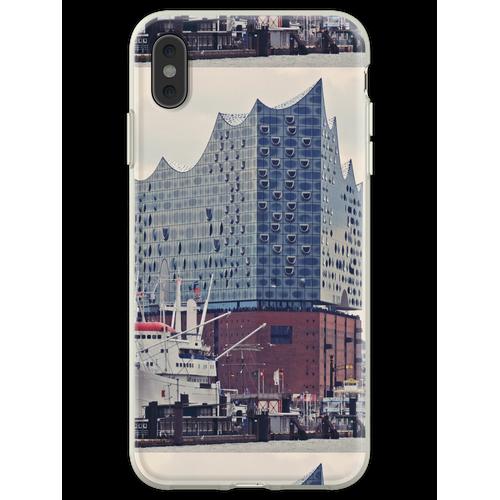 Elbphilharmonie (Elbphilharmonie) Flexible Hülle für iPhone XS Max