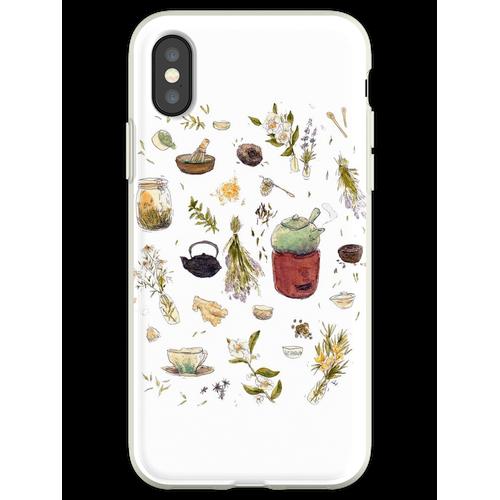 Tee Pflanzen - Willow's Tea Collection Flexible Hülle für iPhone XS