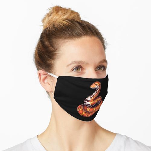 Kornnatter lustig Maske