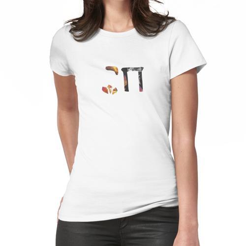 Papier Chai schneiden Frauen T-Shirt