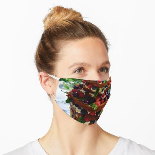 Nackte Hochzeitstorte Maske