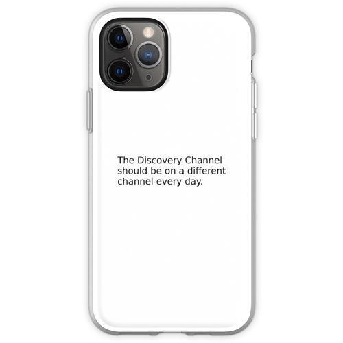 Kabelfernsehen Flexible Hülle für iPhone 11 Pro