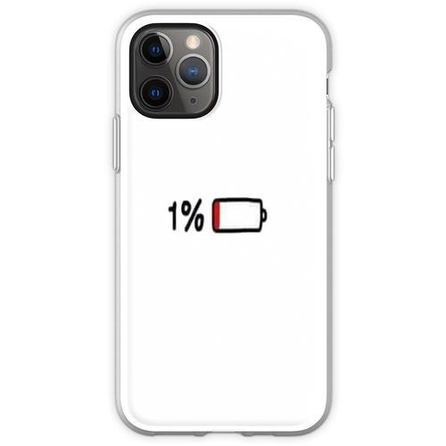 1% Akkulaufzeit Flexible Hülle für iPhone 11 Pro