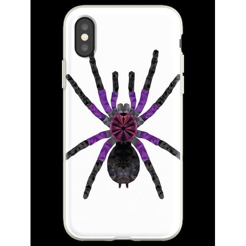 Vogelspinne Pamphobeteus machala Tarantel Geschenk Flexible Hülle für iPhone XS