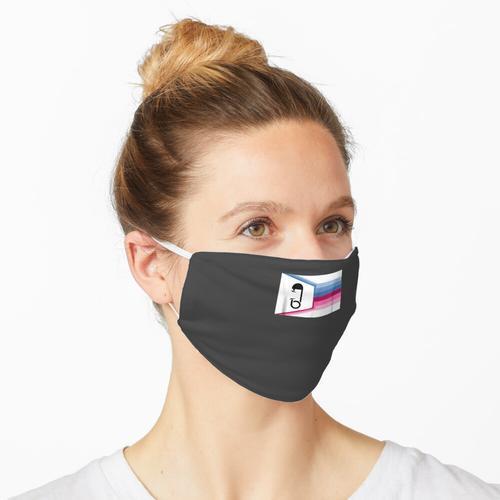 ABDL Pride Flag - Fetisch für erwachsene Babywindelliebhaber Maske