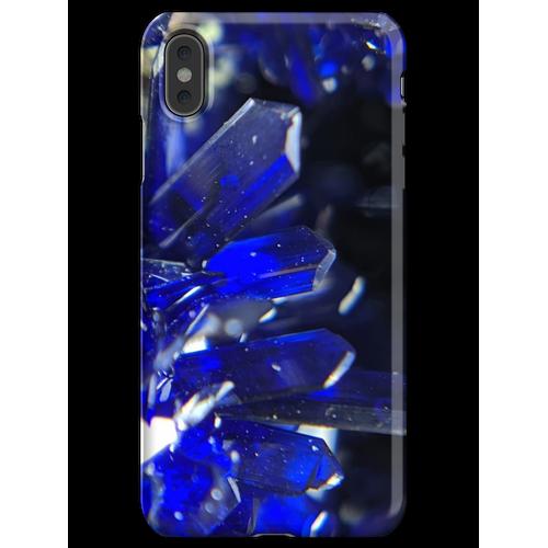 Azurit-Kristalle iPhone XS Max Handyhülle