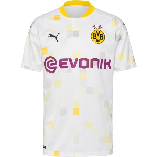PUMA Borussia Dortmund 20-21 3rd Trikot Herren in puma white, Größe L