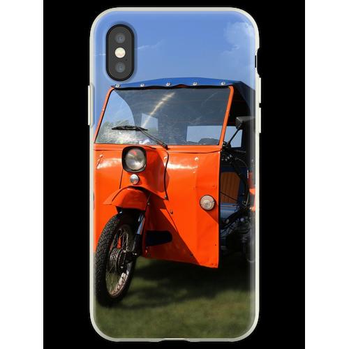 Simson Duo - DDR Classic Fahrrad Flexible Hülle für iPhone XS