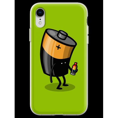 Abgelaufene Batterie Flexible Hülle für iPhone XR
