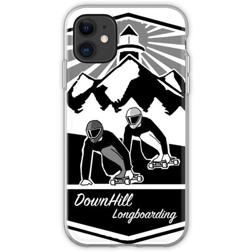 DownHill Longboarden Flexible Hülle für iPhone 11