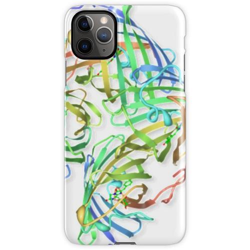 Kristallstruktur eines Proteinmoleküls iPhone 11 Pro Max Handyhülle