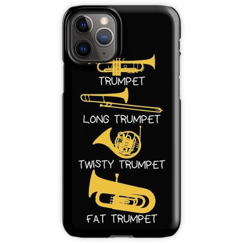 Lustige Arten von Trompete, Trompetergeschenk, Trompete iPhone 11 Pro Handyhülle